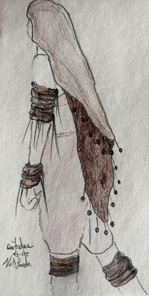 Costume design for the film 'Northlander'
