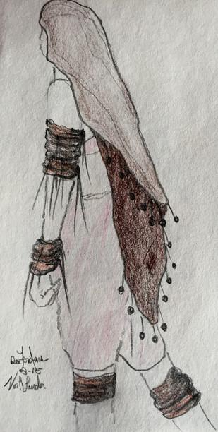 Costume design for the film 'Northlander'