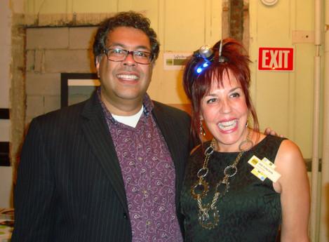 Dee with Mayor Naheed Nenshi
