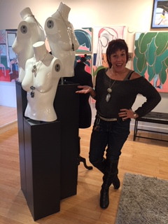 Dee at the Gallery Merrick