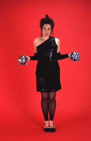 Woman with Balls