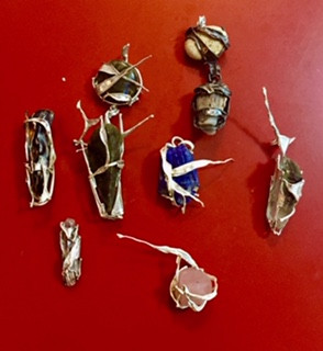 Silver Lining pendants