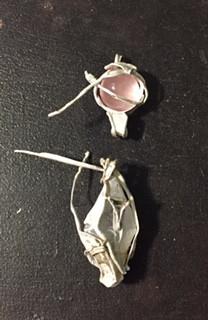 Rose quartz, fluoride & 925