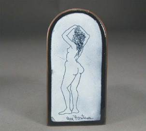 'Standing Nude' Wall piece