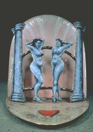 'Ladies' table piece