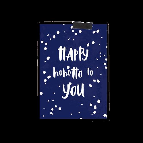 Postkarte :: HAPPY HOHOHO