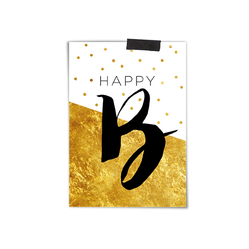 Postkarte :: HAPPY B