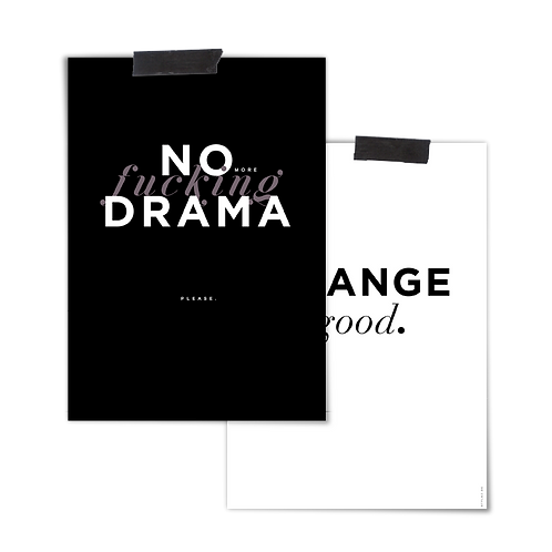 2 in 1 Poster :: CHANGE DRAMA