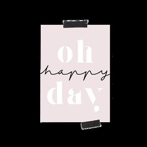 Postkarte :: OH HAPPY DAY