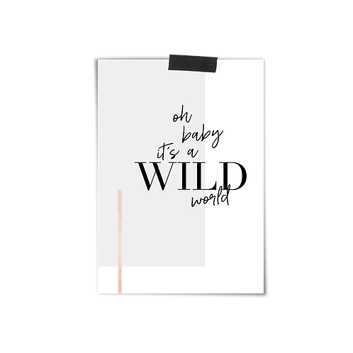 Postkarte :: WILD WORLD