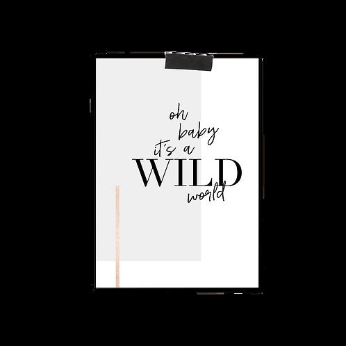 Postkarte :: WILD WORLD