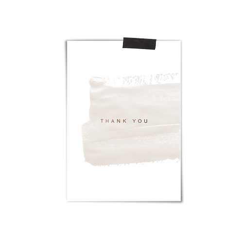Postkarte :: THANK YOU
