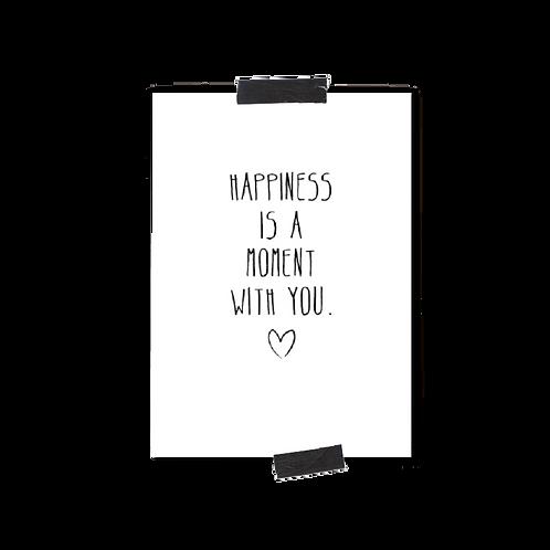 Postkarte :: HAPPINESS