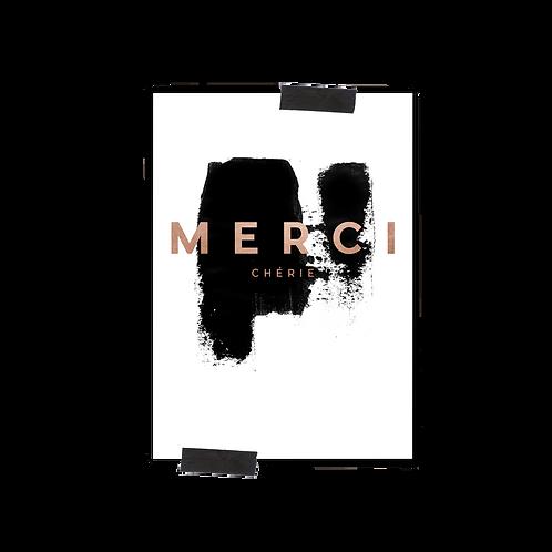 Postkarte :: MERCI