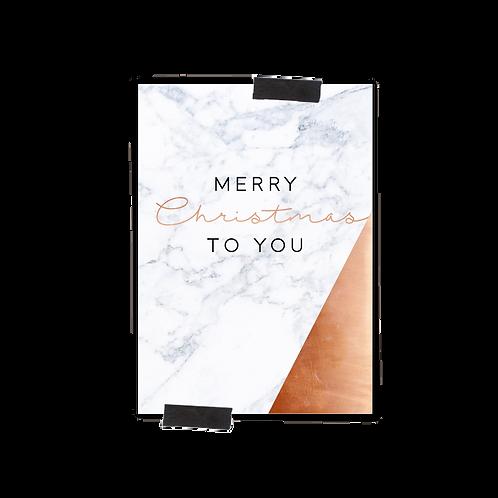 Postkarte :: MERRY CHRISTMAS