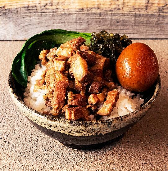 魯肉飯 5食/蛤排骨湯5食セット