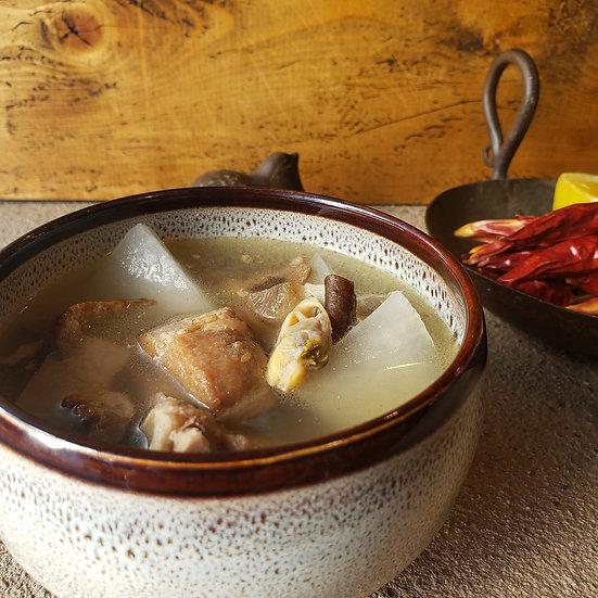 蛤排骨湯 10食セット