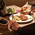 D)鹿児島県産黒豚のステーキ