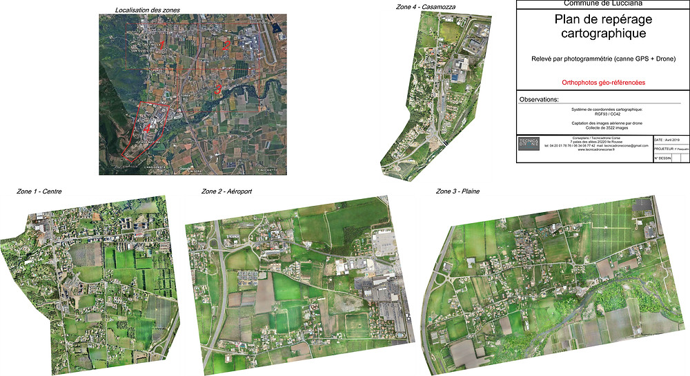 Tecnicadrone Corse - spécialiste cartographie et image aérienne par drone