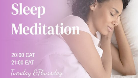 How to sleep well ? Answer: Meditation!