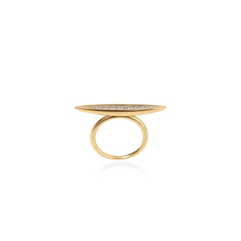 Long Seed Diamond Ring