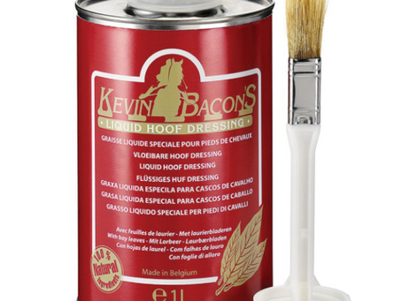 Rider Review- Kevin Bacon Hoof Oil