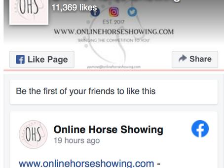 OnlineHorseShowing.com