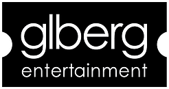 GL Berg Entertainment logo. It looks like a movie ticket