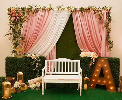 Backdrops and Draping for Quinceaneras Las Vegas