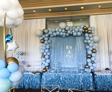 Backdrop and Stage Draping_Baby Shower Byancas Event