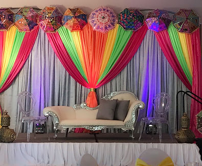 Backdrops and Draping for Weddings Las Vegas