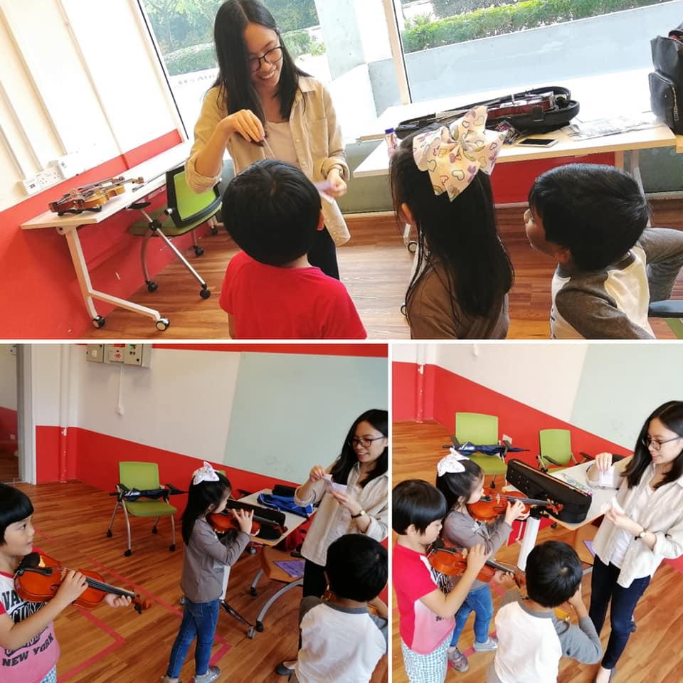 Violin beginner class