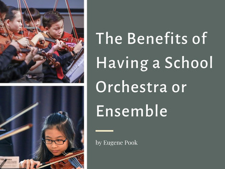 The Benefits of Having a School Orchestra/Ensemble