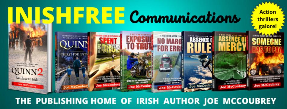 The publishing home of irish author Joe McCoubrey