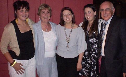 Joe McCoubrey's girls