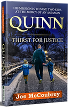 Joe McCoubrey - Quinn - Thirst For Justice book