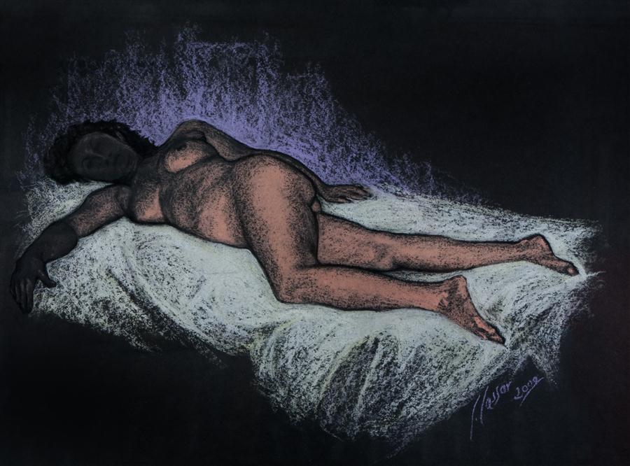 Female Nude Reclining