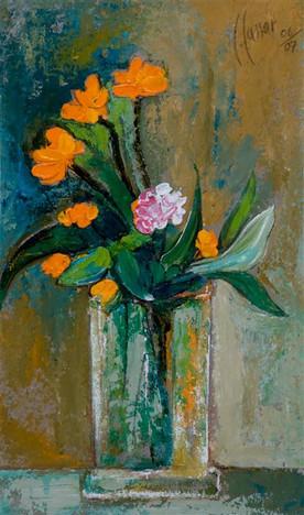 Still-Life  - Orange Flowers