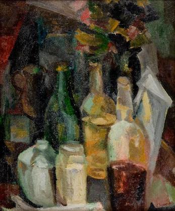 Still-Life - Bottles