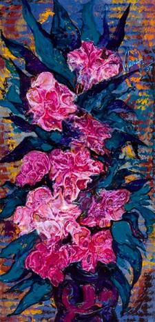 Still-Life - Violet Flowers