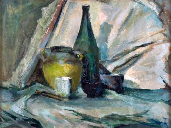 Still-Life - Green Bottle (Mary)