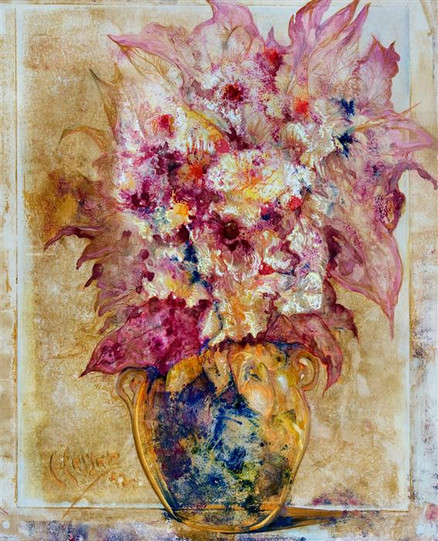 Still-Life - Vase and Flowers