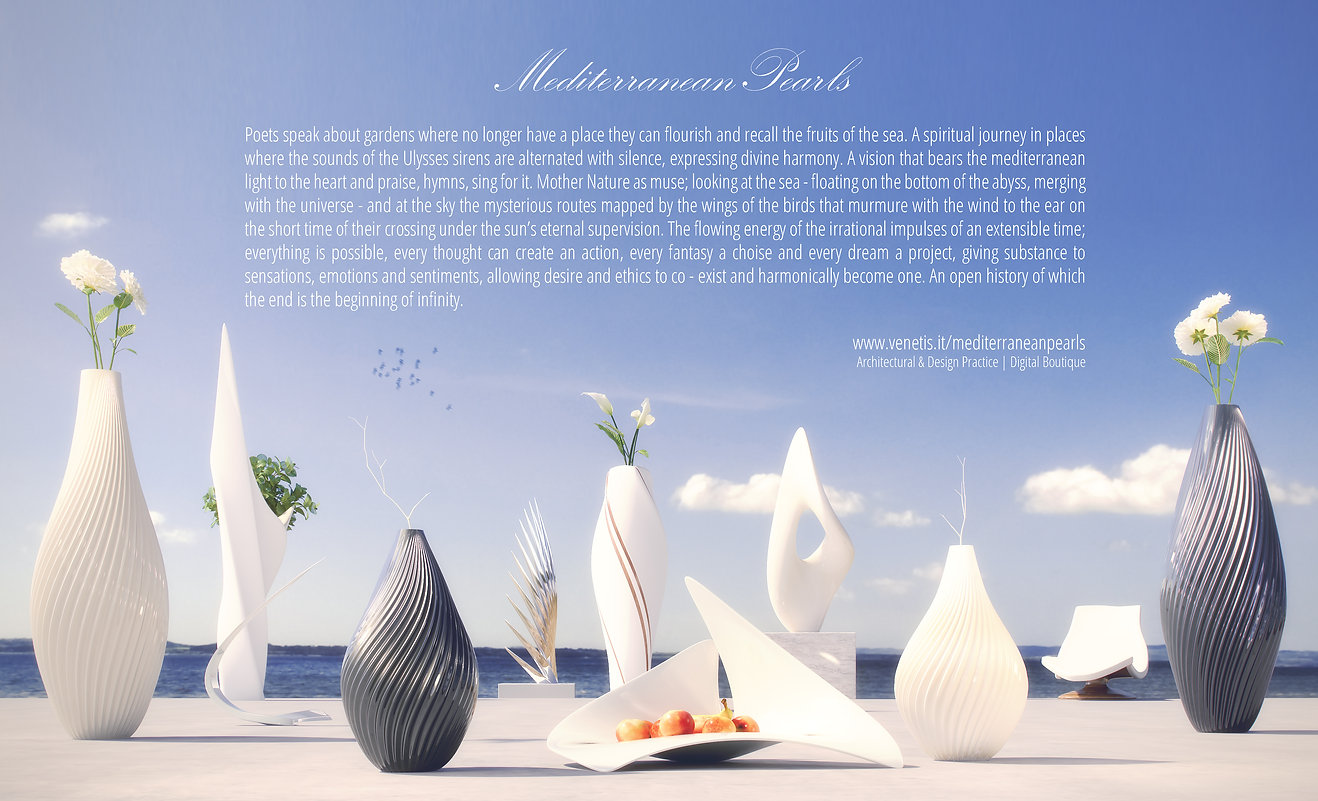 Mediterranean Pearls Mediterranean Design Greek Design Product Design Venetis