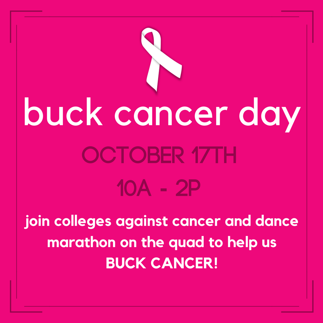 BUCK CANCER DAY