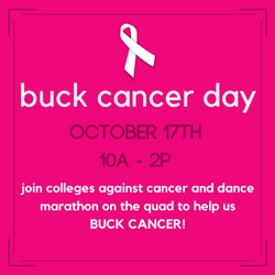 BUCK CANCER DAY