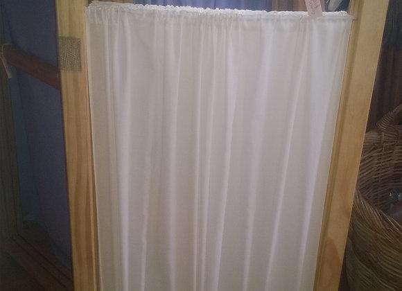 Play frame with curtain