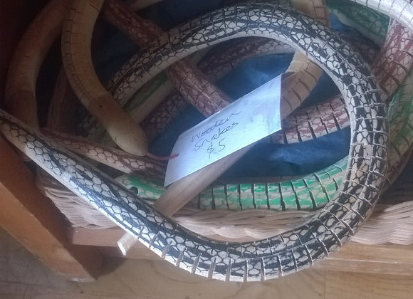 Wooden snakes