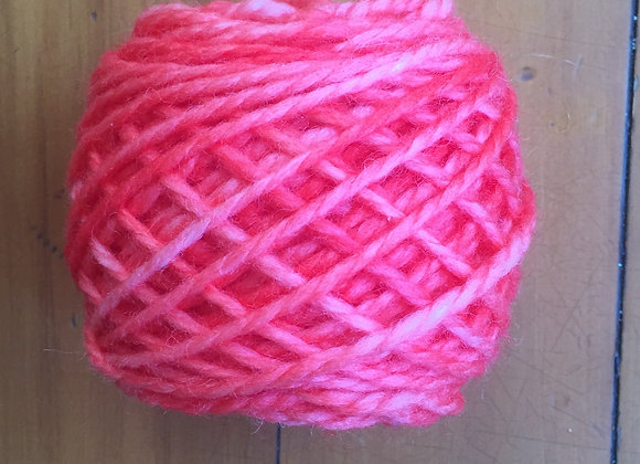 Pink -light red wool - 14ply