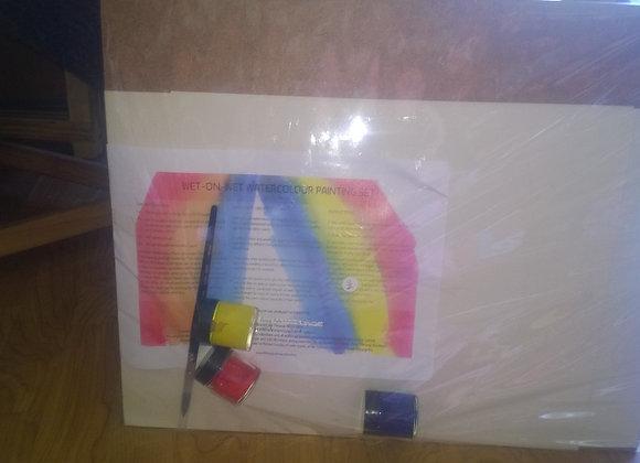 Watercolor painting set