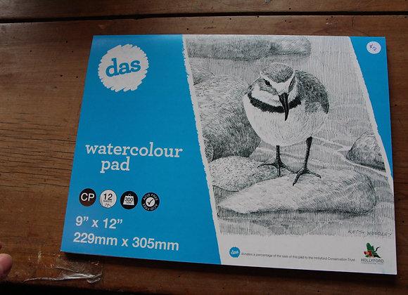 Watercolour pad 229mm x 305 mm